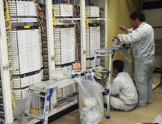 ネット回線工事